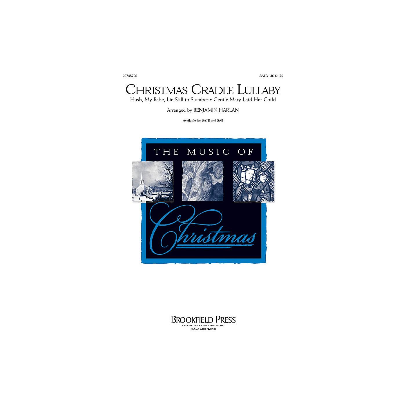 Brookfield Christmas Cradle Lullaby SATB arranged by Benjamin Harlan thumbnail
