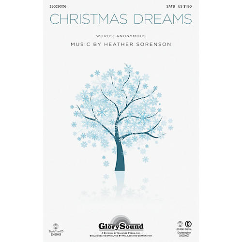 Shawnee Press Christmas Dreams ORCHESTRATION ON CD-ROM Composed by Heather Sorenson thumbnail