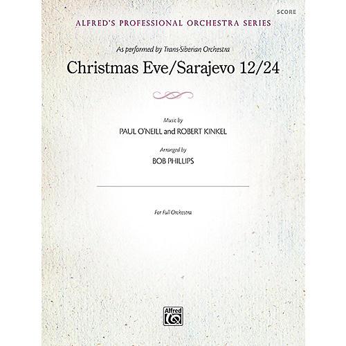 Alfred Christmas Eve/Sarajevo 12/24 Full Orchestra Grade Professional thumbnail
