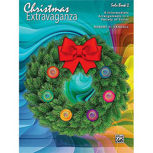 Alfred Christmas Extravaganza, Book 2 Intermediate thumbnail