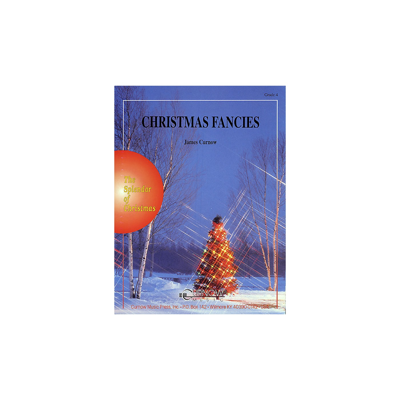 Curnow Music Christmas Fancies (Grade 4 - Score Only) Concert Band Level 4 Composed by James Curnow thumbnail