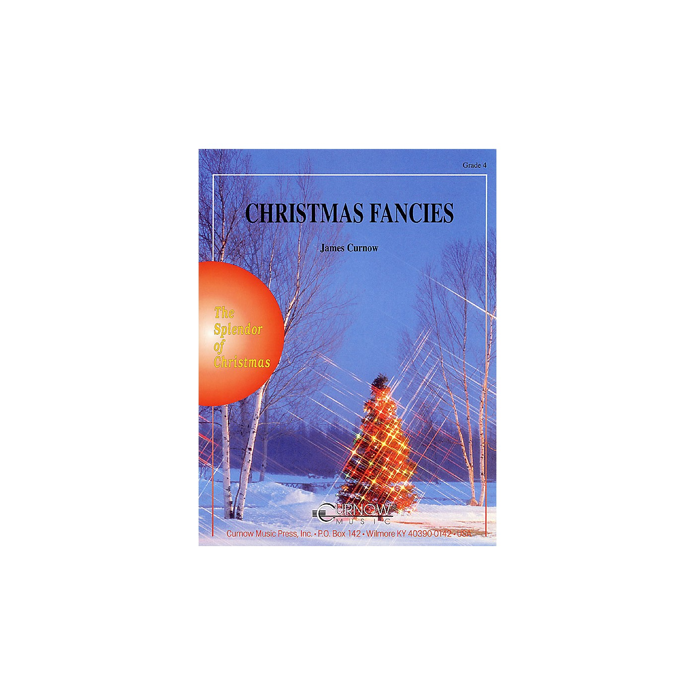 Curnow Music Christmas Fancies (Grade 4 - Score and Parts) Concert Band Level 4 Composed by James Curnow thumbnail