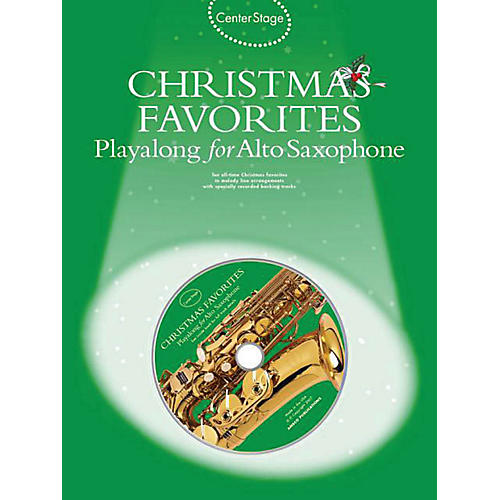 Music Sales Christmas Favorites - Playalong for Alto Sax Music Sales America Series Book with CD thumbnail