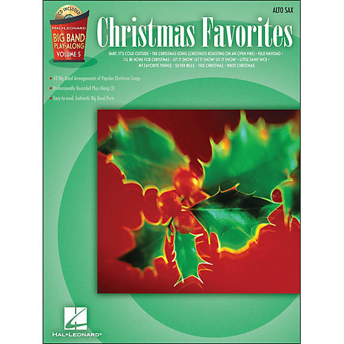 Hal Leonard Christmas Favorites Big Band Play-Along Vol. 5 Alto Sax Book/CD thumbnail