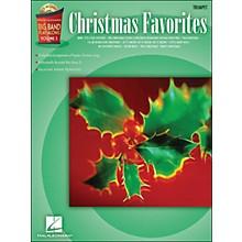 Hal Leonard Christmas Favorites Big Band Play-Along Vol. 5 Trumpet Book/CD