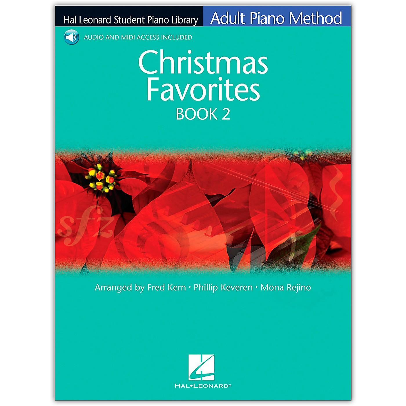 Hal Leonard Christmas Favorites Book/Online Audio 2 Adult Piano Method Hal Leonard Student Piano Library Book/Online Audio thumbnail