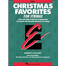 Hal Leonard Christmas Favorites Cello Essential Elements
