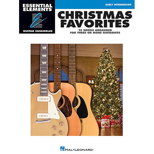 Hal Leonard Christmas Favorites Essential Elements Guitar Series Softcover thumbnail