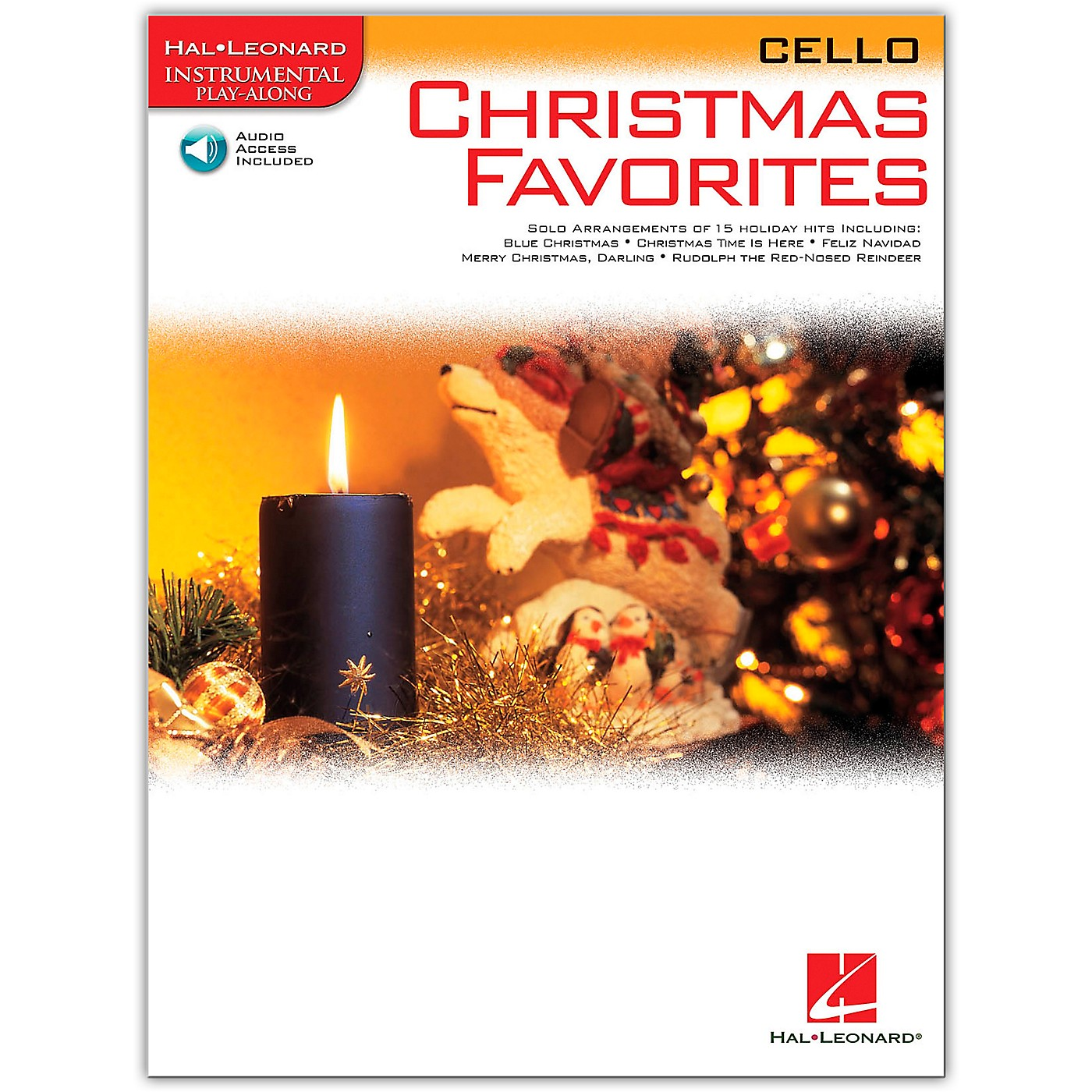 Hal Leonard Christmas Favorites for Cello Book/Online Audio Instrumental Play-Along thumbnail