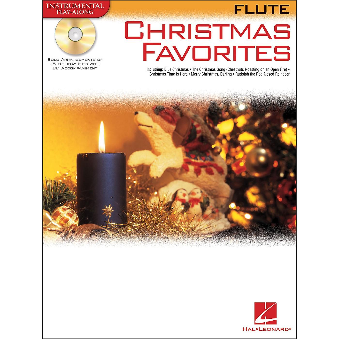 Hal Leonard Christmas Favorites for Flute Book/CD Instrumental Play-Along thumbnail