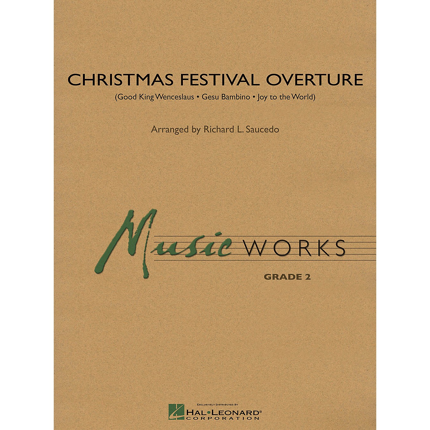 Hal Leonard Christmas Festival Overture Concert Band Level 2 Arranged by Richard L. Saucedo thumbnail