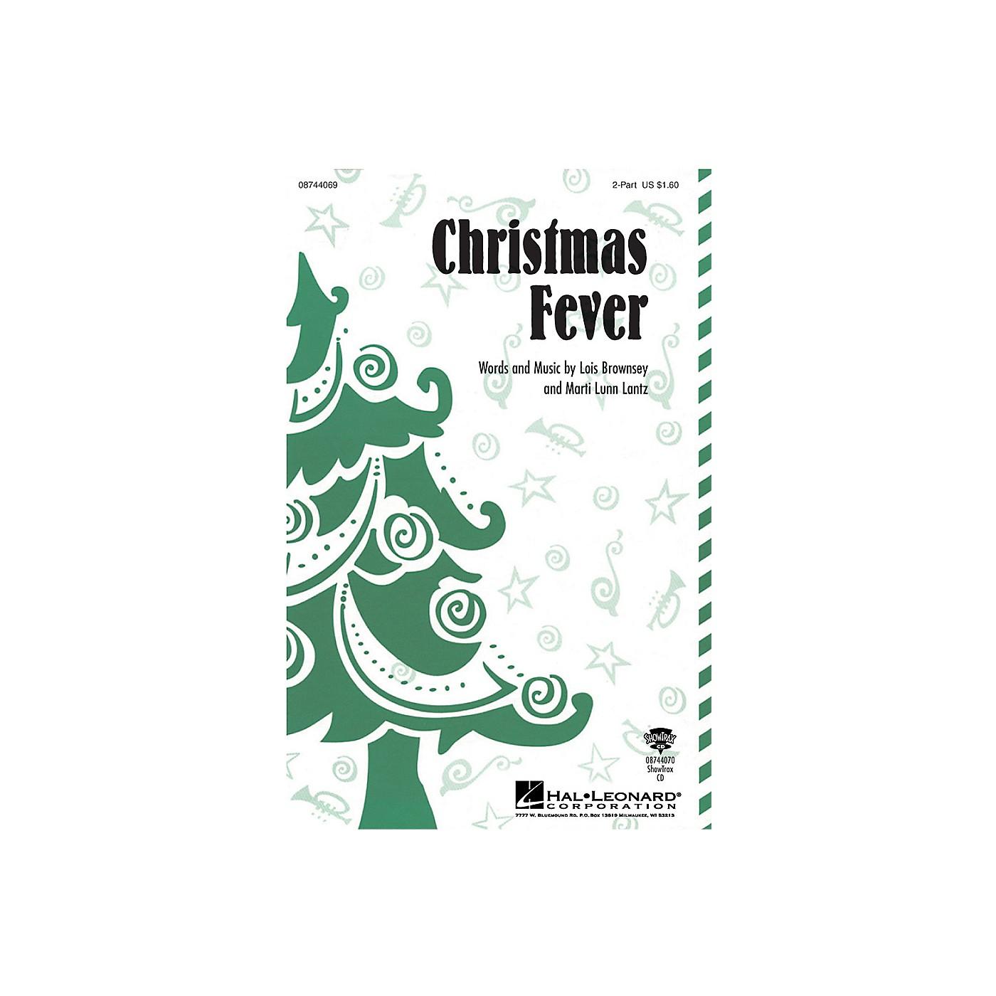 Hal Leonard Christmas Fever 2-Part composed by Marti Lunn Lantz thumbnail