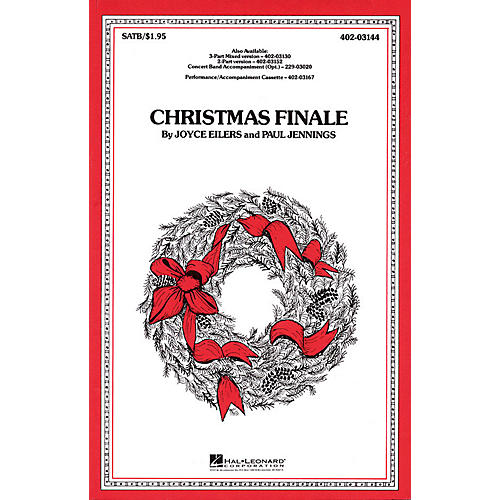 Hal Leonard Christmas Finale 3-Part Mixed Arranged by Paul Jennings thumbnail