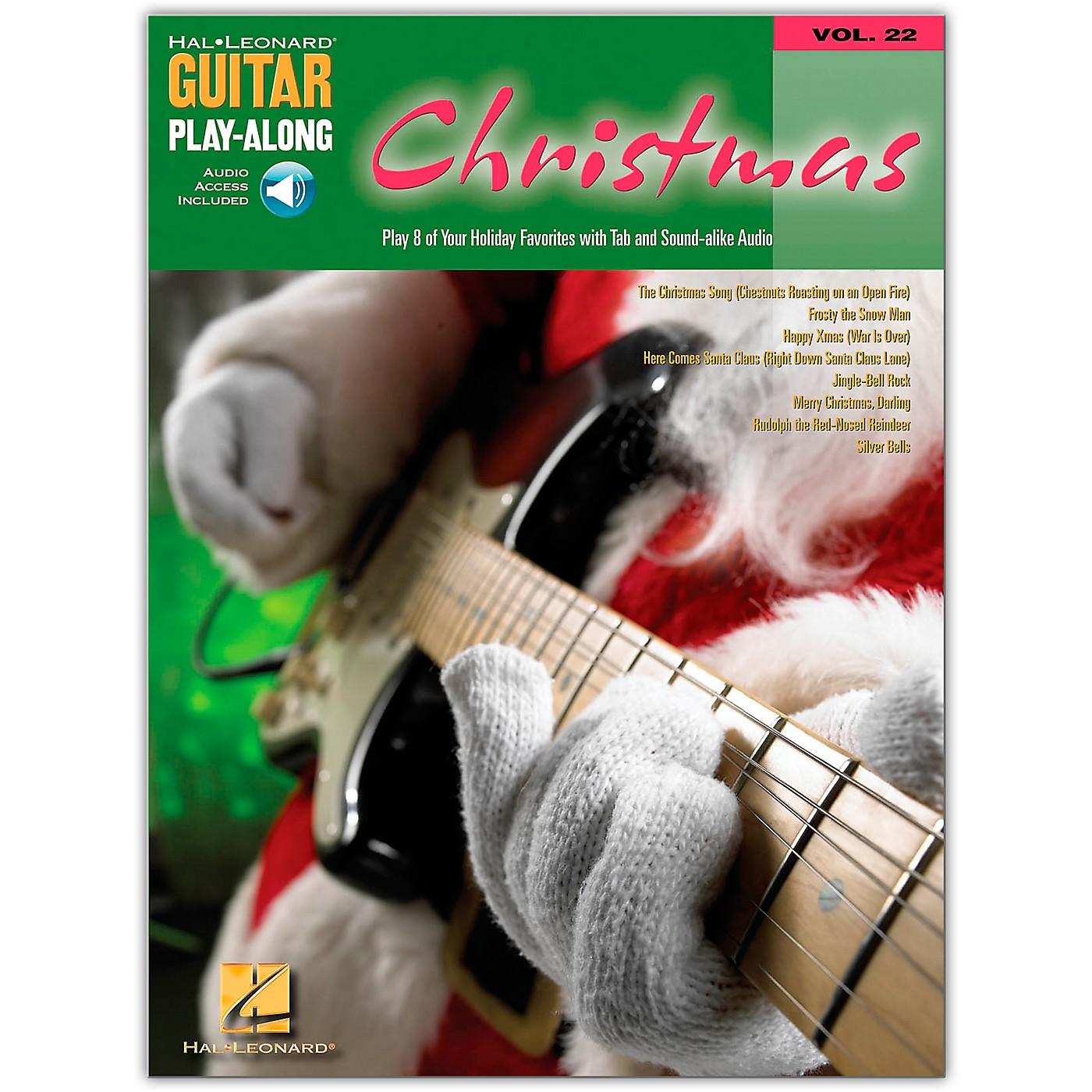 Hal Leonard Christmas Guitar Play-Along Series (Book/Online Audio) thumbnail
