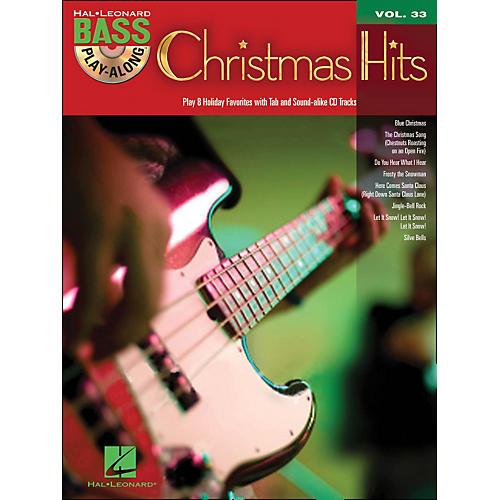 Hal Leonard Christmas Hits - Bass Play-Along Volume 33 Book/CD thumbnail
