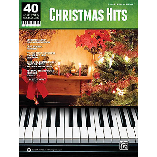 Hal Leonard Christmas Hits 40 Sheet Music Bestsellers Series for Piano/Vocal/Piano thumbnail