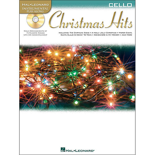 Hal Leonard Christmas Hits for Cello - Instrumental Play-Along Book/CD Pkg thumbnail