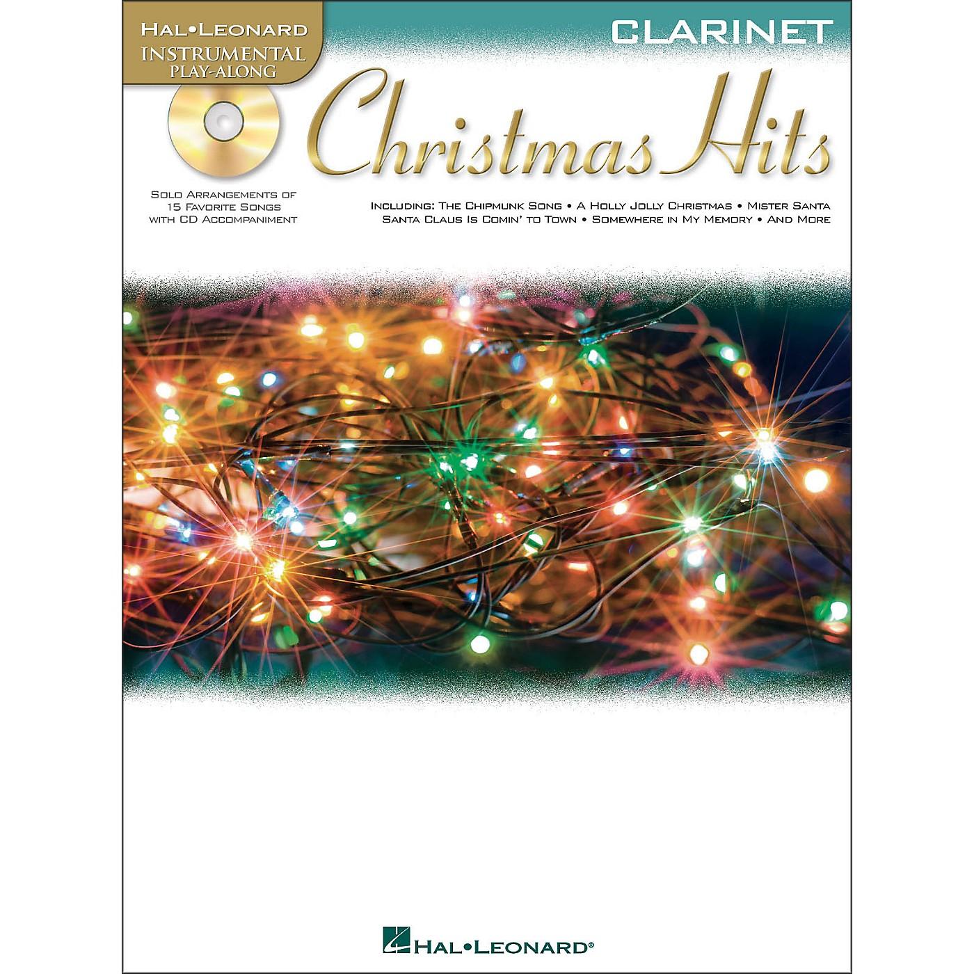 Hal Leonard Christmas Hits for Clarinet - Instrumental Play-Along Book/CD Pkg thumbnail