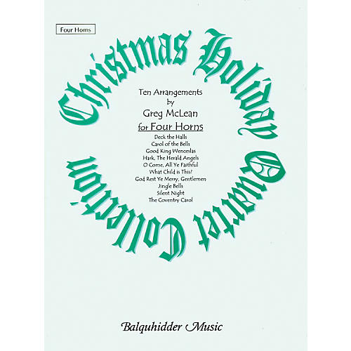 Carl Fischer Christmas Holiday Quartet Collection Book thumbnail