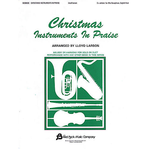 Fred Bock Music Christmas Instruments in Praise Instructional Series thumbnail