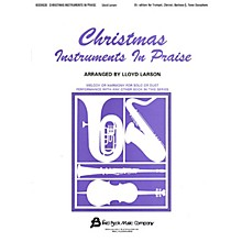 Fred Bock Music Christmas Instruments in Praise Instructional Series