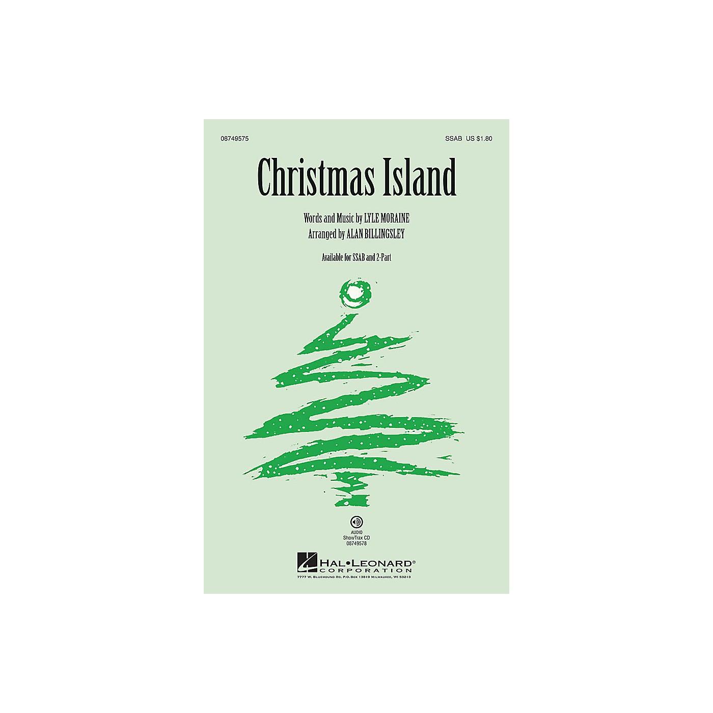 Hal Leonard Christmas Island 2-Part by Brian Setzer Arranged by Alan Billingsley thumbnail