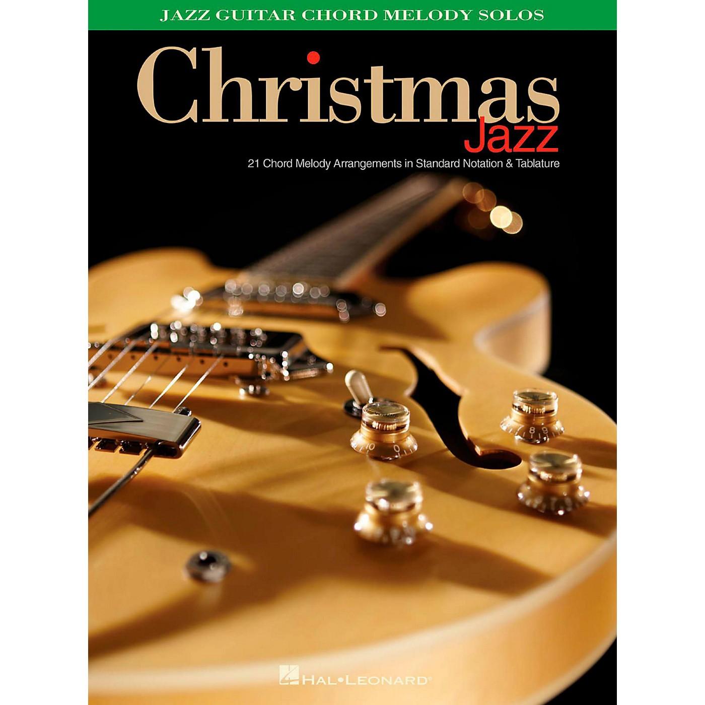 Hal Leonard Christmas Jazz - Jazz Guitar Chord Melody Solos thumbnail