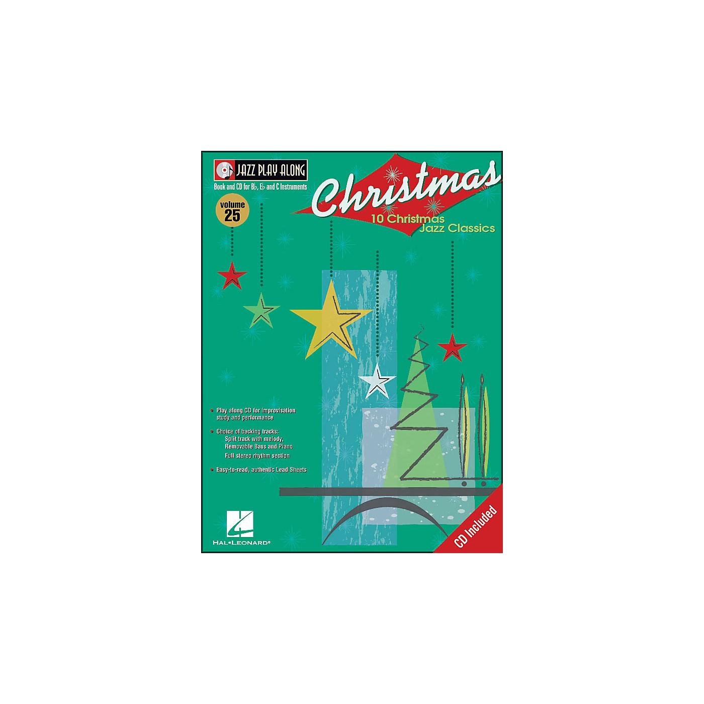 Hal Leonard Christmas Jazz - Jazz Play-Along Book/CD Volume 25 thumbnail