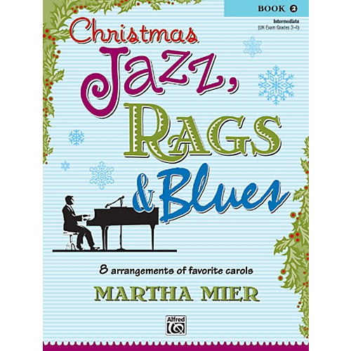Alfred Christmas Jazz, Rags & Blues Book 2-thumbnail