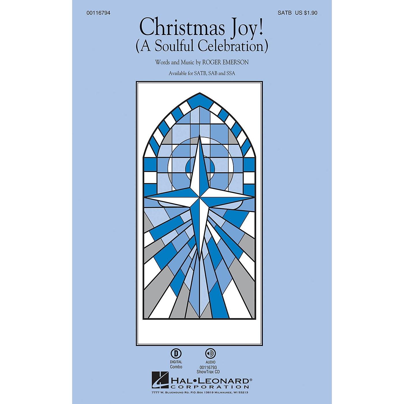 Hal Leonard Christmas Joy! (A Soulful Celebration) SATB composed by Roger Emerson thumbnail