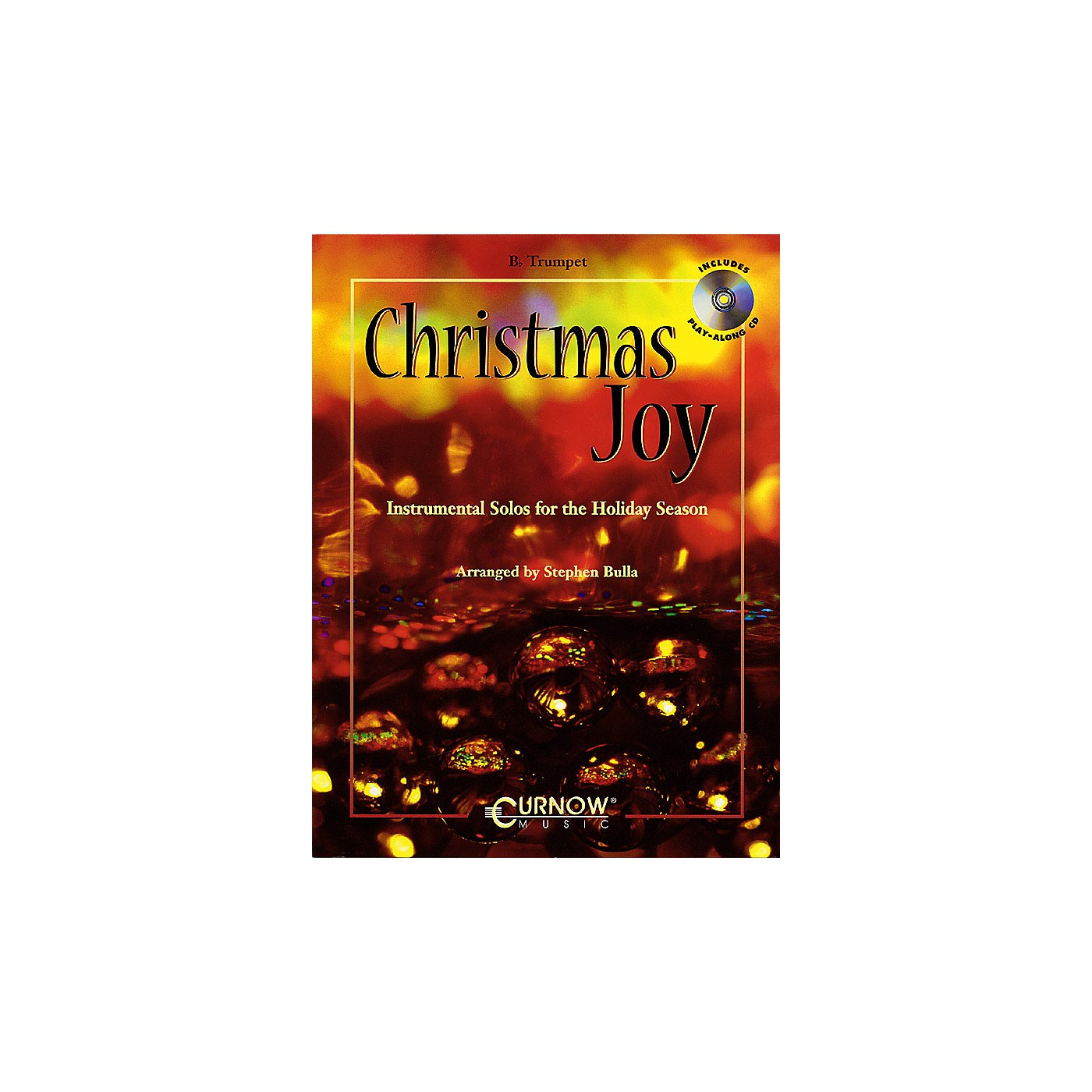 Curnow Music Christmas Joy (Instrumental Solos for the Holiday Season) Concert Band Level 3 thumbnail