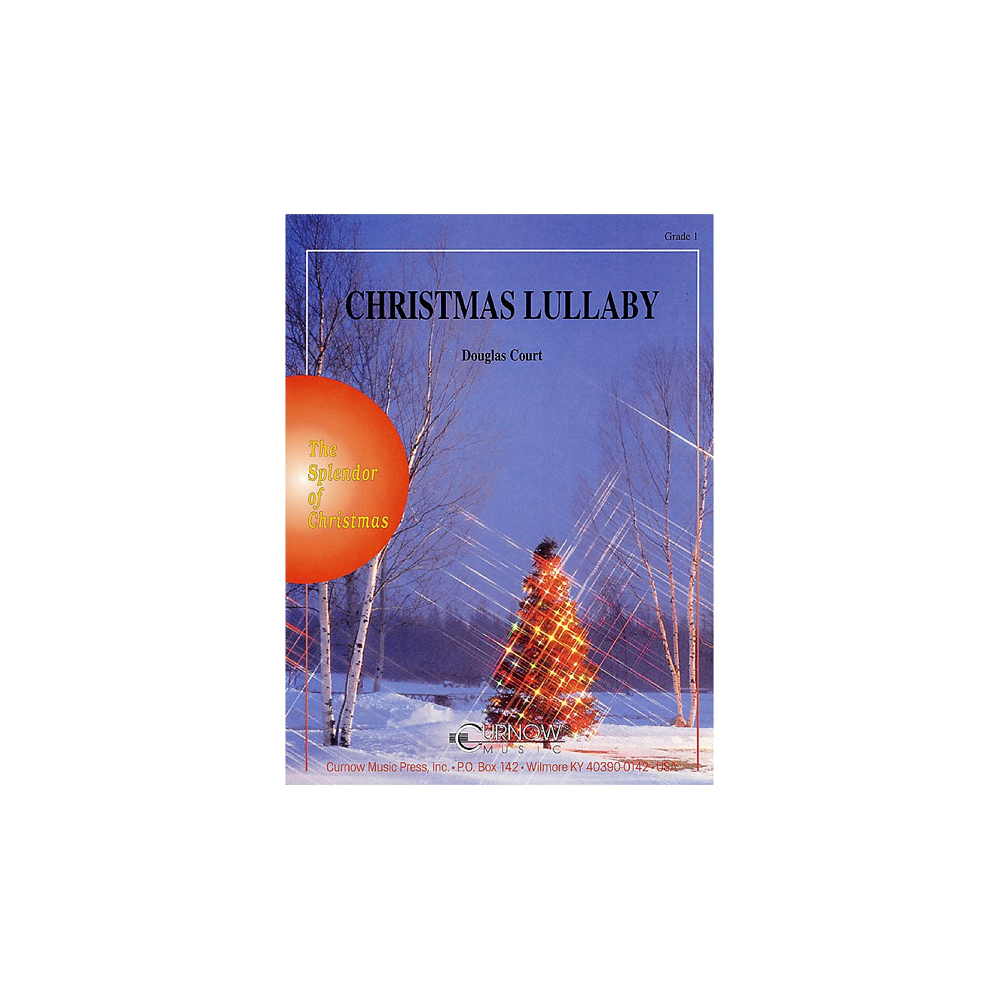 Curnow Music Christmas Lullaby (Grade 1 - Score and Parts) Concert Band Level 1 Arranged by Douglas Court thumbnail