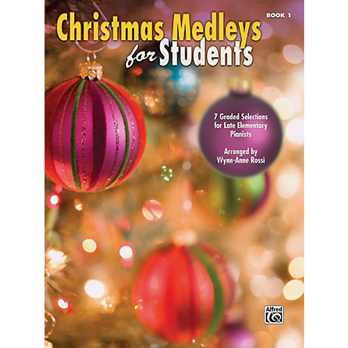 Alfred Christmas Medleys for Students Book 1 thumbnail