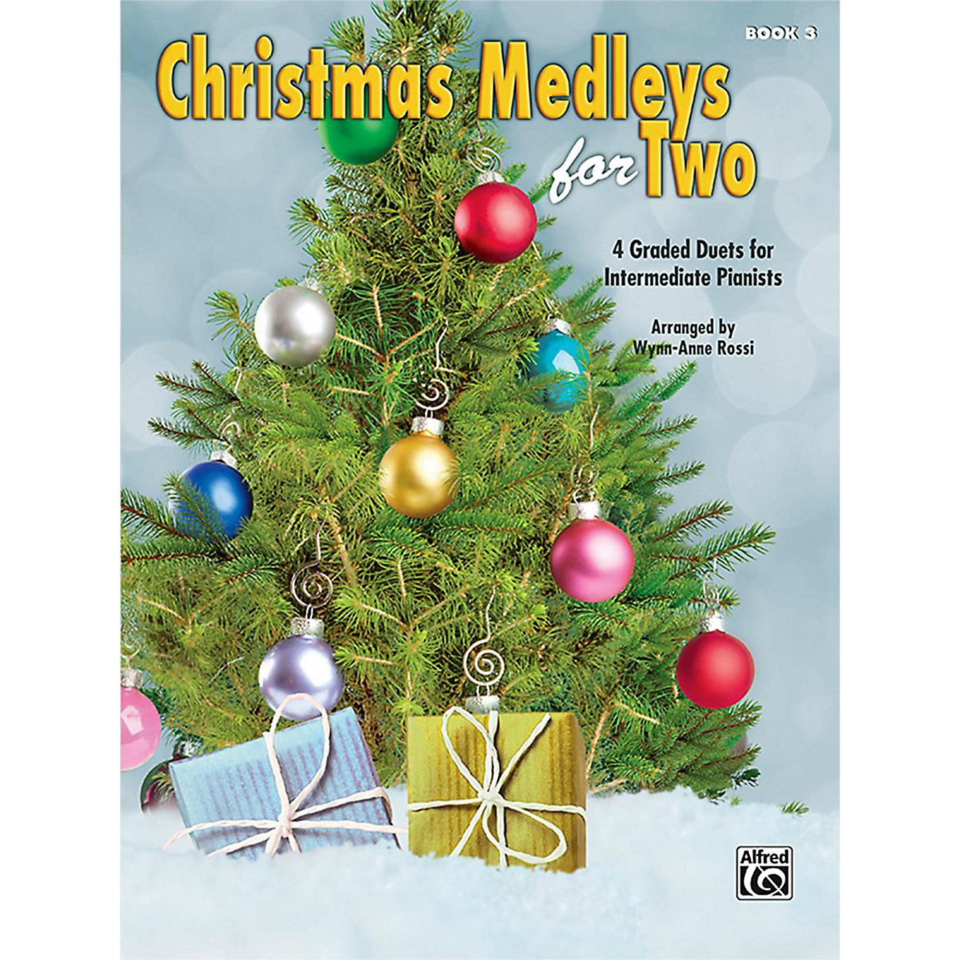 Alfred Christmas Medleys for Two, Book 3 Intermediate thumbnail