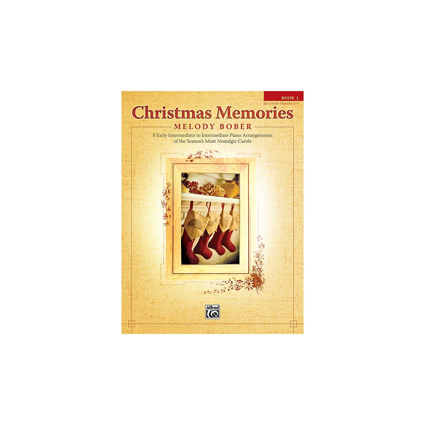 Alfred Christmas Memories Piano Book 1 thumbnail