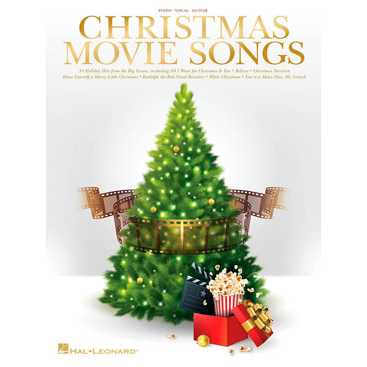 Hal Leonard Christmas Movie Songs for piano/vocal/guitar thumbnail