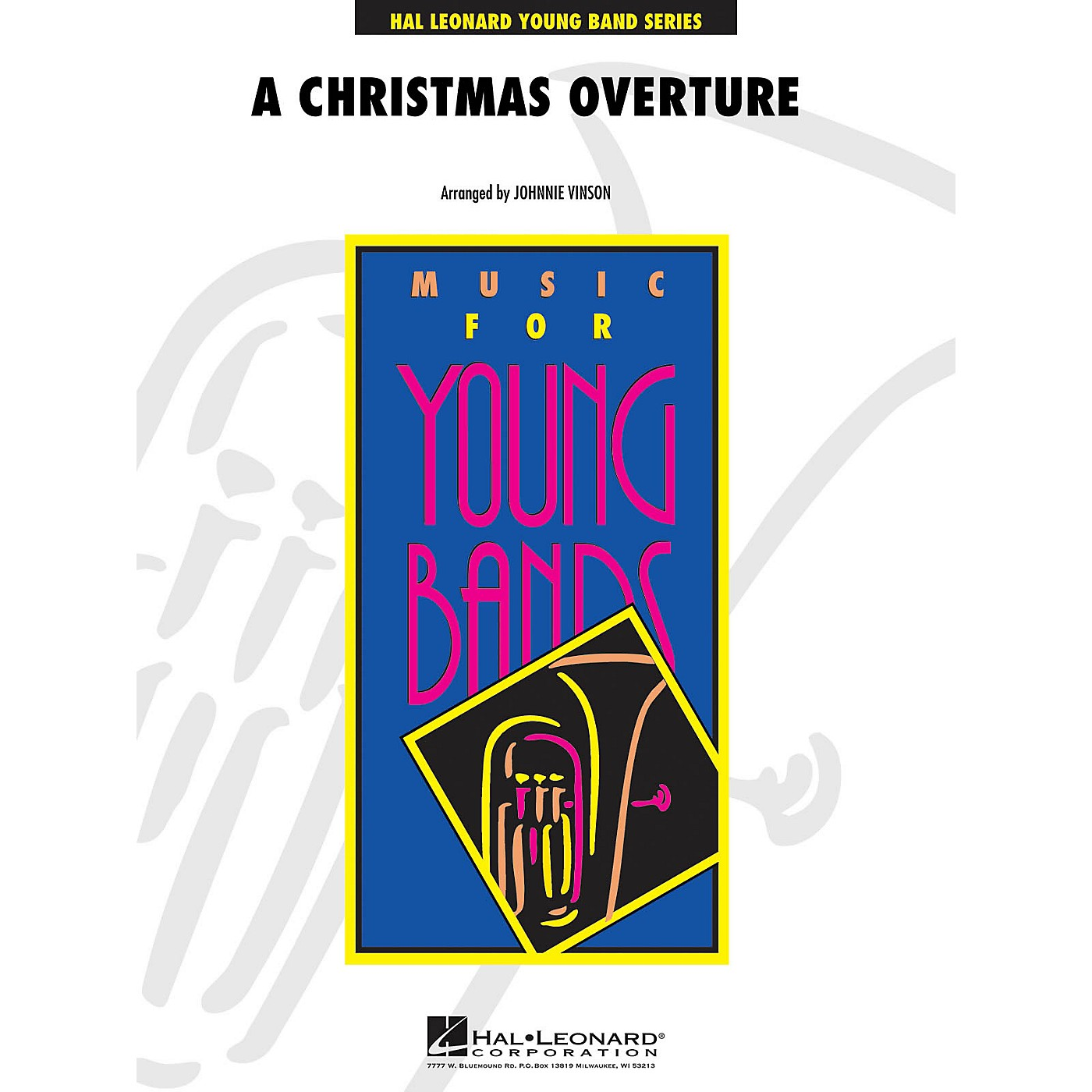 Hal Leonard Christmas Overture, A - Young Concert Band Level 3 arranged by Johnnie Vinson thumbnail