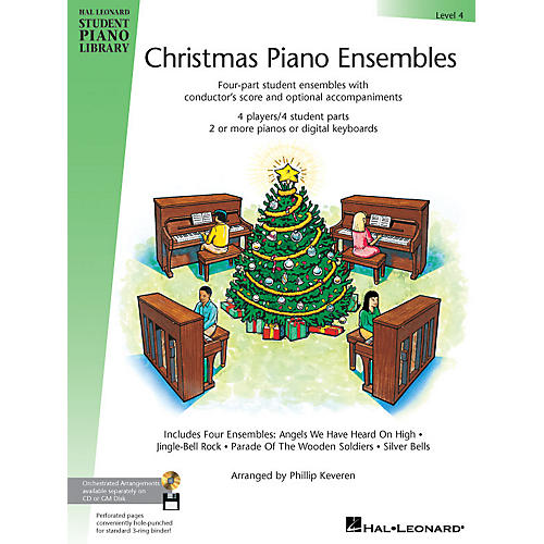 Hal Leonard Christmas Piano Ensembles - Level 4 Book Only Piano Library Series (Level Early Inter) thumbnail