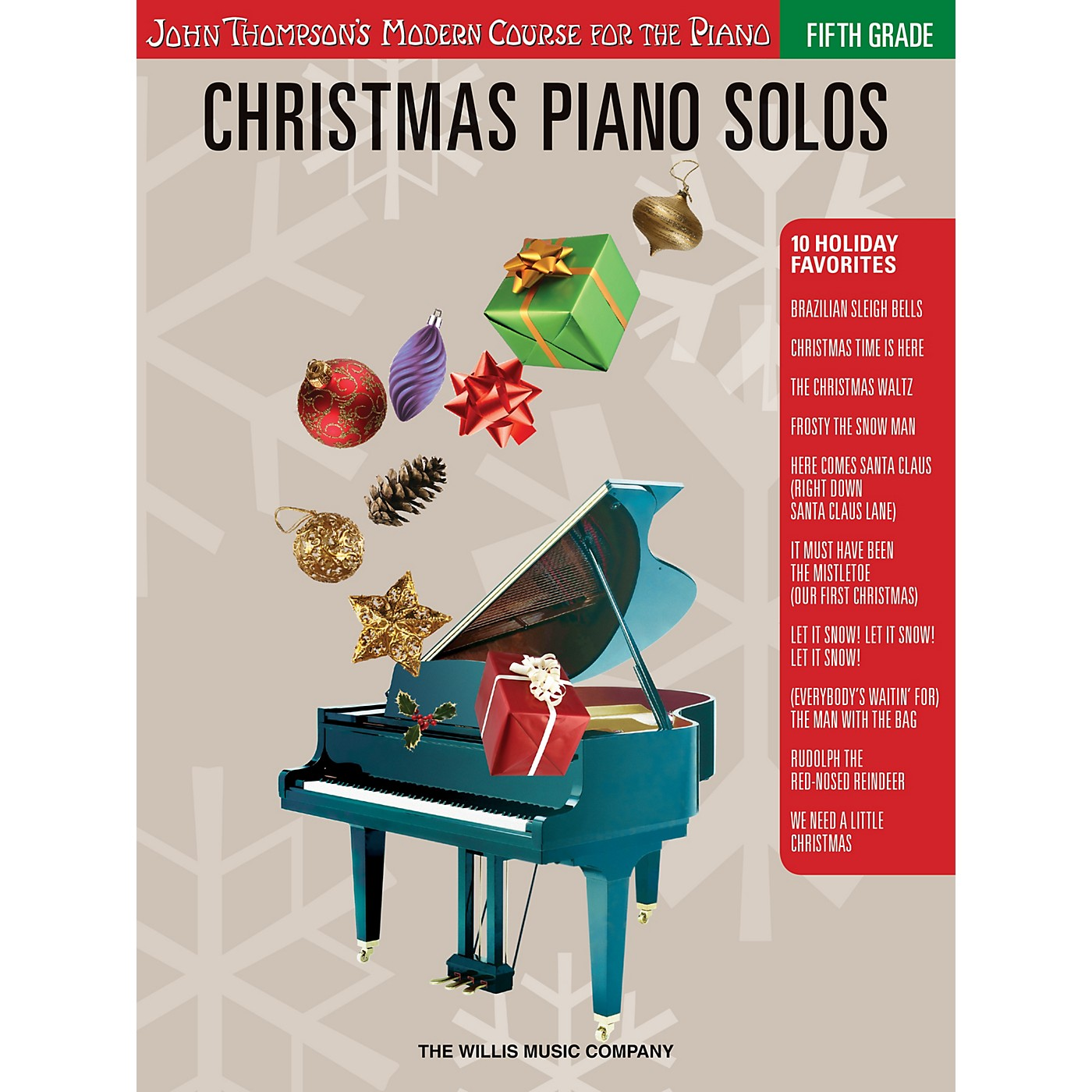Willis Music Christmas Piano Solos - Fifth Grade (Book Only) Willis Series Softcover Composed by Various thumbnail