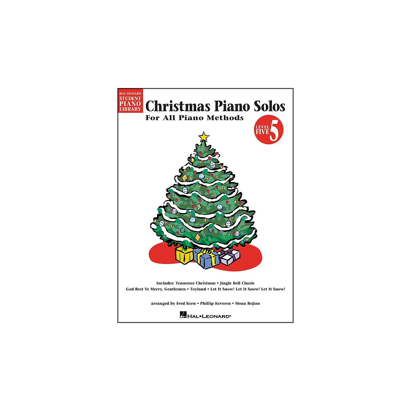 Hal Leonard Christmas Piano Solos Book 5 Hal Leonard Student Piano Library thumbnail
