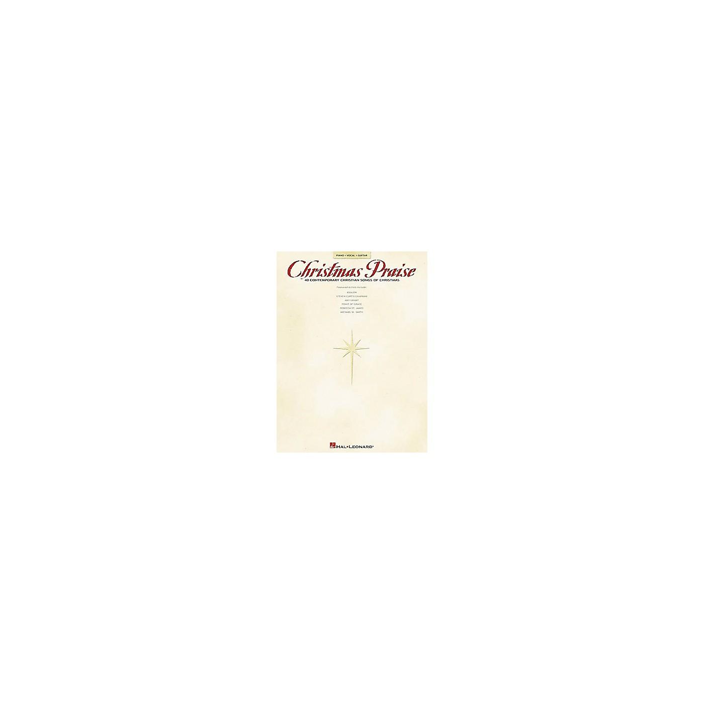 Hal Leonard Christmas Praise Piano, Vocal, Guitar Songbook thumbnail