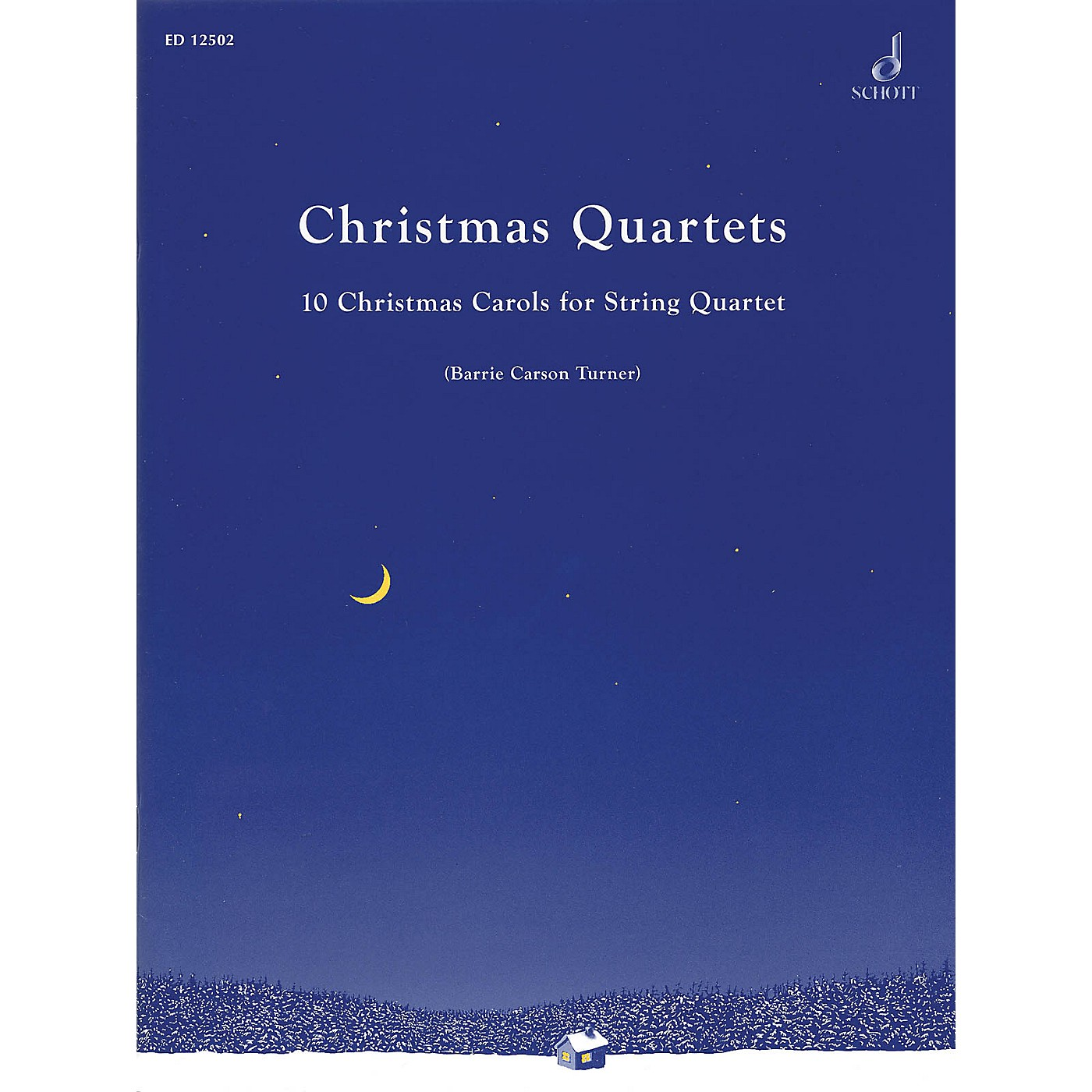 Schott Christmas Quartets Schott Series Softcover Composed by Various Arranged by Barrie Carson Turner thumbnail