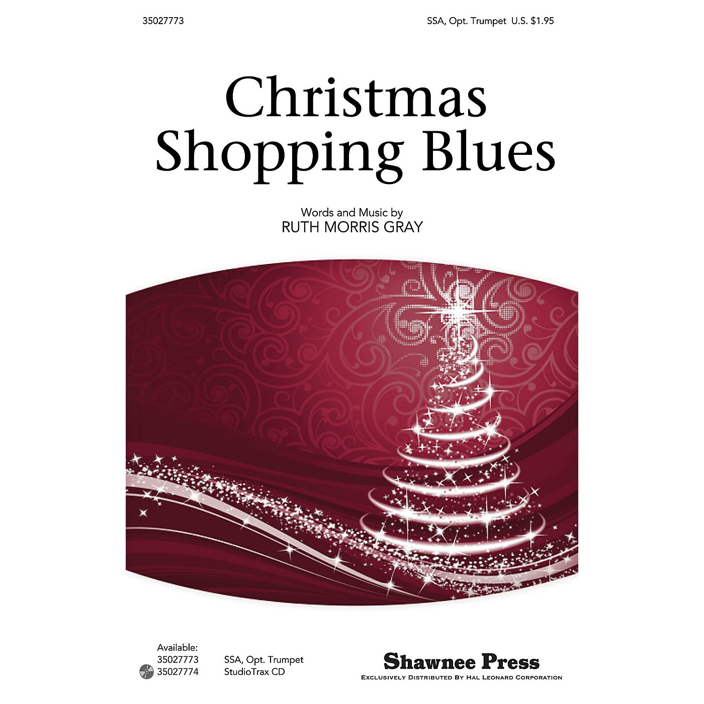 Shawnee Press Christmas Shopping Blues SSA composed by Ruth Morris Gray thumbnail