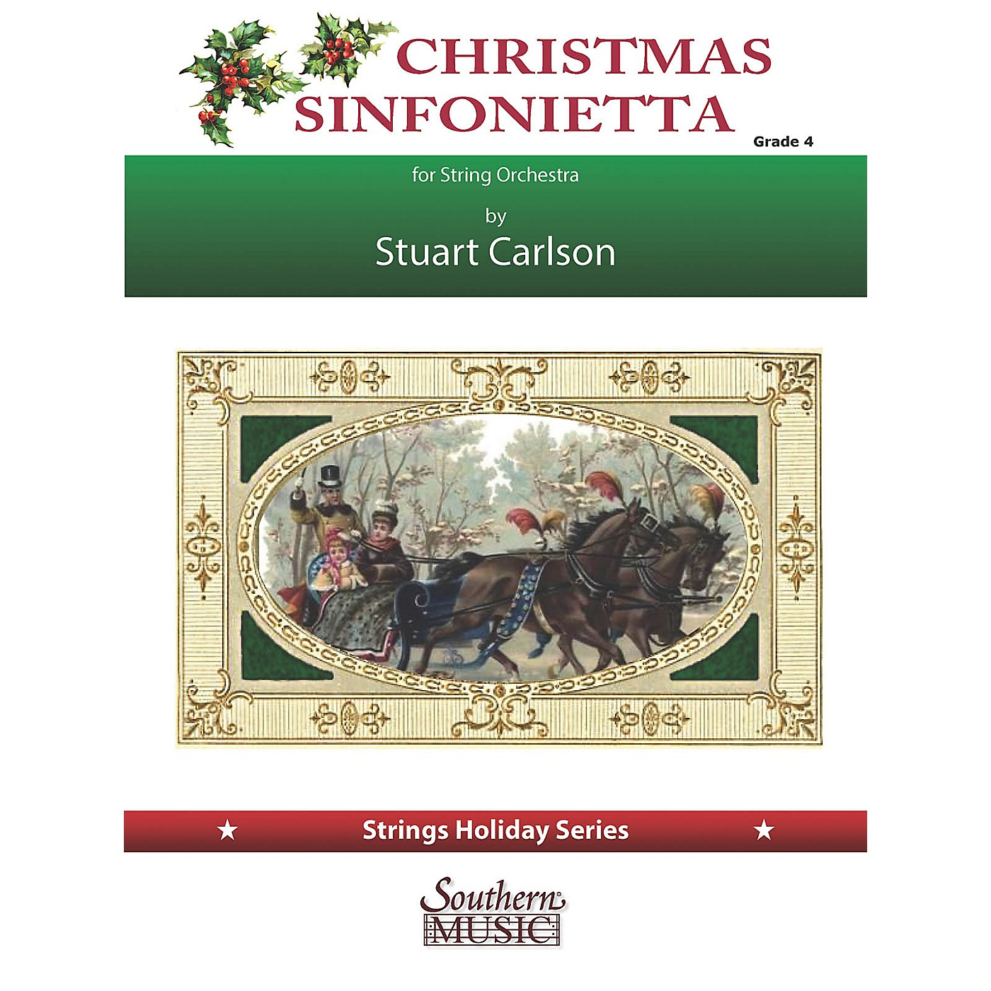 Southern Christmas Sinfonietta (for String Orchestra) Southern Music Series Softcover by Stuart Ross Carlson thumbnail
