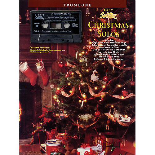 Hal Leonard Christmas Solos (Trombone) Solo Trax Series Performed by Various thumbnail