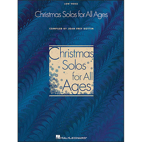Hal Leonard Christmas Solos for All Ages - Low Voice thumbnail