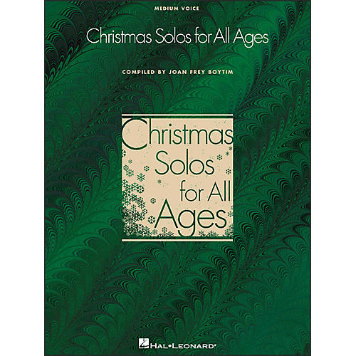 Hal Leonard Christmas Solos for All Ages for Medium Voice-thumbnail