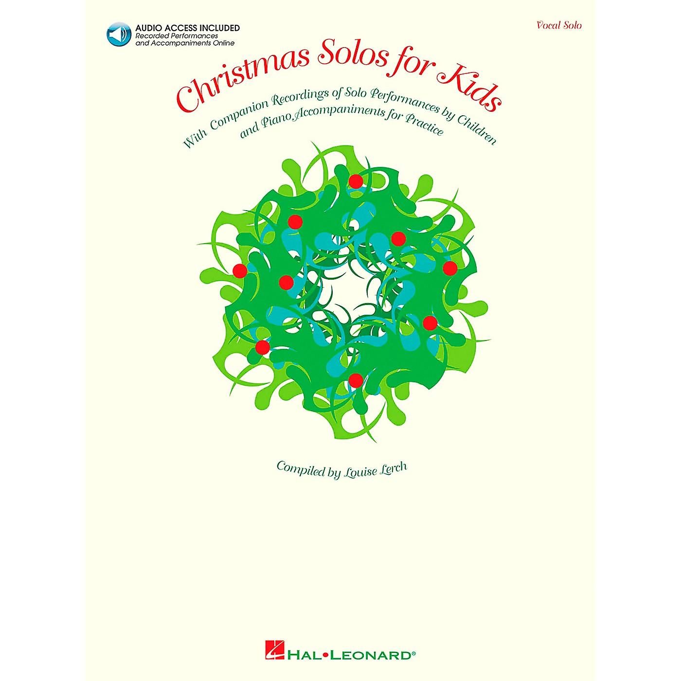 Hal Leonard Christmas Solos for Kids Book/CD thumbnail
