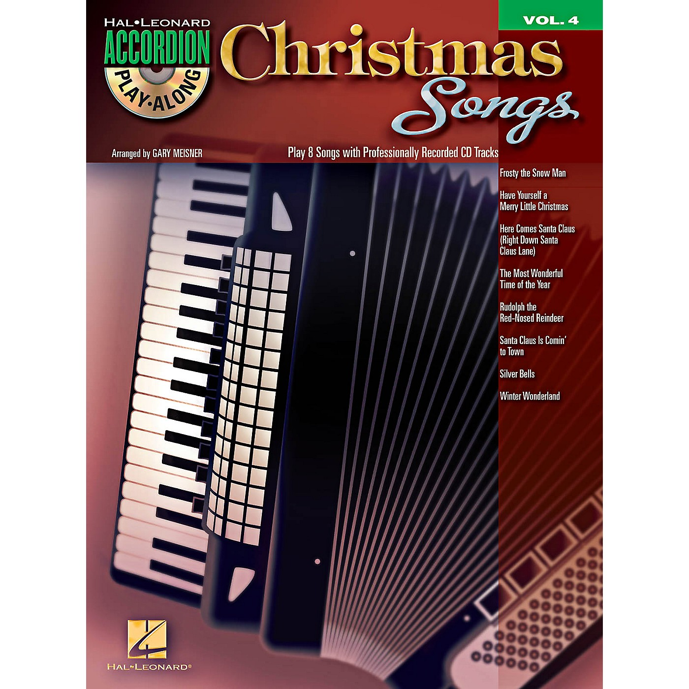 Hal Leonard Christmas Songs - Accordion Play-Along Volume 4 Book/CD thumbnail