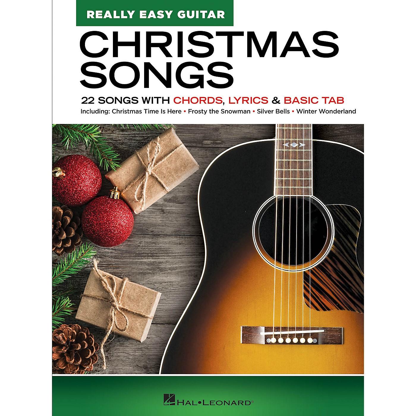 Hal Leonard Christmas Songs - Really Easy Guitar Series Songbook thumbnail